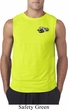 Mens Dodge Super Bee Logo Pocket Print Sleeveless Shirt