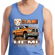 Mens Dodge Tanktop Ram Hemi Trucks Tank Top