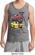 Mens Dodge Tanktop Vintage Chargers Tank Top