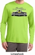 Mens Dodge Yellow Plymouth Roadrunner Dry Wicking Long Sleeve Shirt