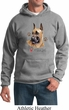 Mens Dog Hoodie I Love My Great Dane Hoody