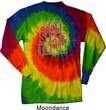 Mens Fitness Shirt Eat Sleep Train Long Sleeve Tie Dye Tee T-shirt