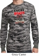 Mens Fitness Shirt Every Beast Long Sleeve Thermal Tee T-Shirt