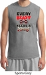 Mens Fitness Shirt Every Beast Needs A Beauty Muscle Tee T-Shirt