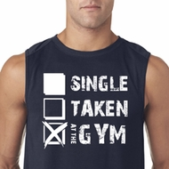 Mens Fitness Shirt Single Taken At The Gym Sleeveless Tee T-Shirt