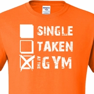 Mens Fitness Shirt Single Taken At The Gym Tall Tee T-Shirt