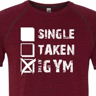 Mens Fitness Shirt Single Taken At The Gym Tri Blend Tee T-Shirt