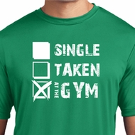 Mens Fitness Shirt Single Taken Gym Moisture Wicking Tee T-Shirt