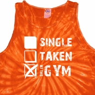 Mens Fitness Tanktop Single Taken At The Gym Tie Dye Tank Top