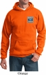 Mens Ford Hoodie Built Ford Tough Pocket Print Hoody