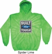 Mens Ford Hoodie Built Ford Tough Tie Dye Hoody