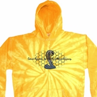 Mens Ford Hoodie Powered By Cobra Tie Dye Hoody