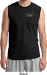 Mens Ford Mustang with Grill Pocket Print Muscle Shirt