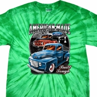 Mens Ford Shirt American Made Spider Tie Dye Shirt