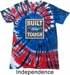 Mens Ford Shirt Built Ford Tough Patriotic Tie Dye Tee T-shirt