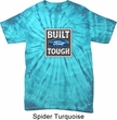 Mens Ford Shirt Built Ford Tough Spider Tie Dye Tee T-shirt