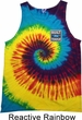 Mens Ford Shirt Built Ford Tough Tank Tie Dye Tee T-shirt