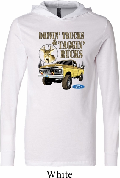 Mens ford shirt driving and tagging bucks lightweight for Two bucks t shirts