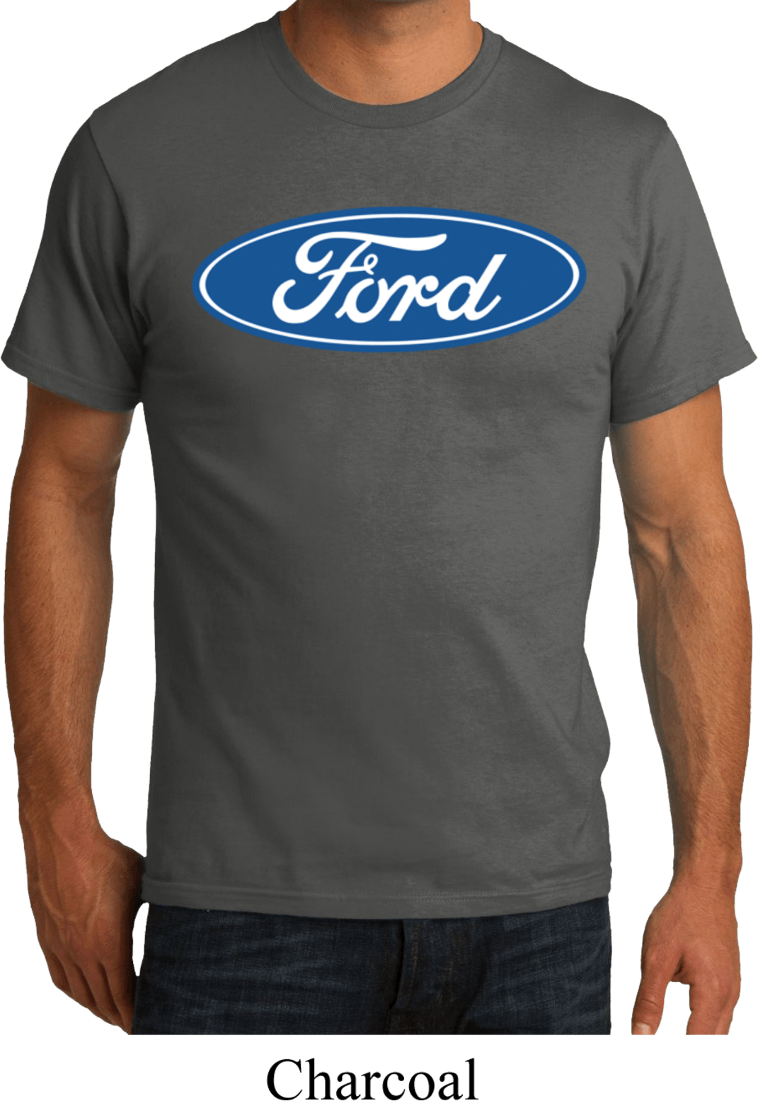 mens ford shirt ford oval organic tee t shirt ford oval. Black Bedroom Furniture Sets. Home Design Ideas