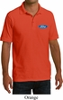 Mens Ford Shirt Ford Oval Pocket Print Pique Polo
