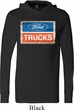 Mens Ford Shirt Ford Trucks Logo Lightweight Hoodie Tee