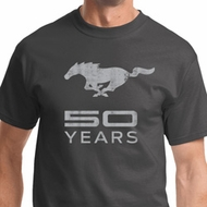 Mens Ford Shirt Mustang 50 Years Tee T-Shirt