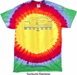 Mens Ford Shirt Mustang Honeycomb Grille Premium Tie Dye Shirt