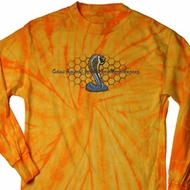 Mens Ford Shirt Powered By Cobra Long Sleeve Tie Dye Shirt
