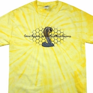 Mens Ford Shirt Powered By Cobra Spider Tie Dye Shirt