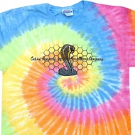 Mens Ford Shirt Powered By Cobra Tie Dye Shirt