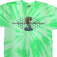 Mens Ford Shirt Powered By Cobra Twist Tie Dye Shirt