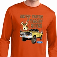 Mens Ford Shirt Tagging Bucks Dry Wicking Long Sleeve Shirt