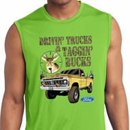 Mens Ford Shirt Tagging Bucks Sleeveless Moisture Wicking Shirt