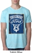 Mens Ford Shirt V8 Genuine Ford Parts Burnout Tee T-Shirt