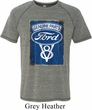 Mens Ford Shirt V8 Genuine Ford Parts Tri Blend Tee T-Shirt