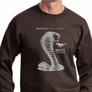 Mens Ford Sweatshirt 50 Years Cobra Sweat Shirt