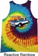 Mens Ford Tanktop Mans Best Friend Tie Dye Tank Top