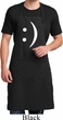 Mens Funny Apron Smiley Chat Face Full Length Apron with Pockets