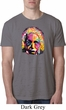 Mens Funny Shirt Albert Einstein Burnout Tee T-Shirt