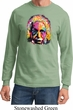 Mens Funny Shirt Albert Einstein Long Sleeve Tee T-Shirt