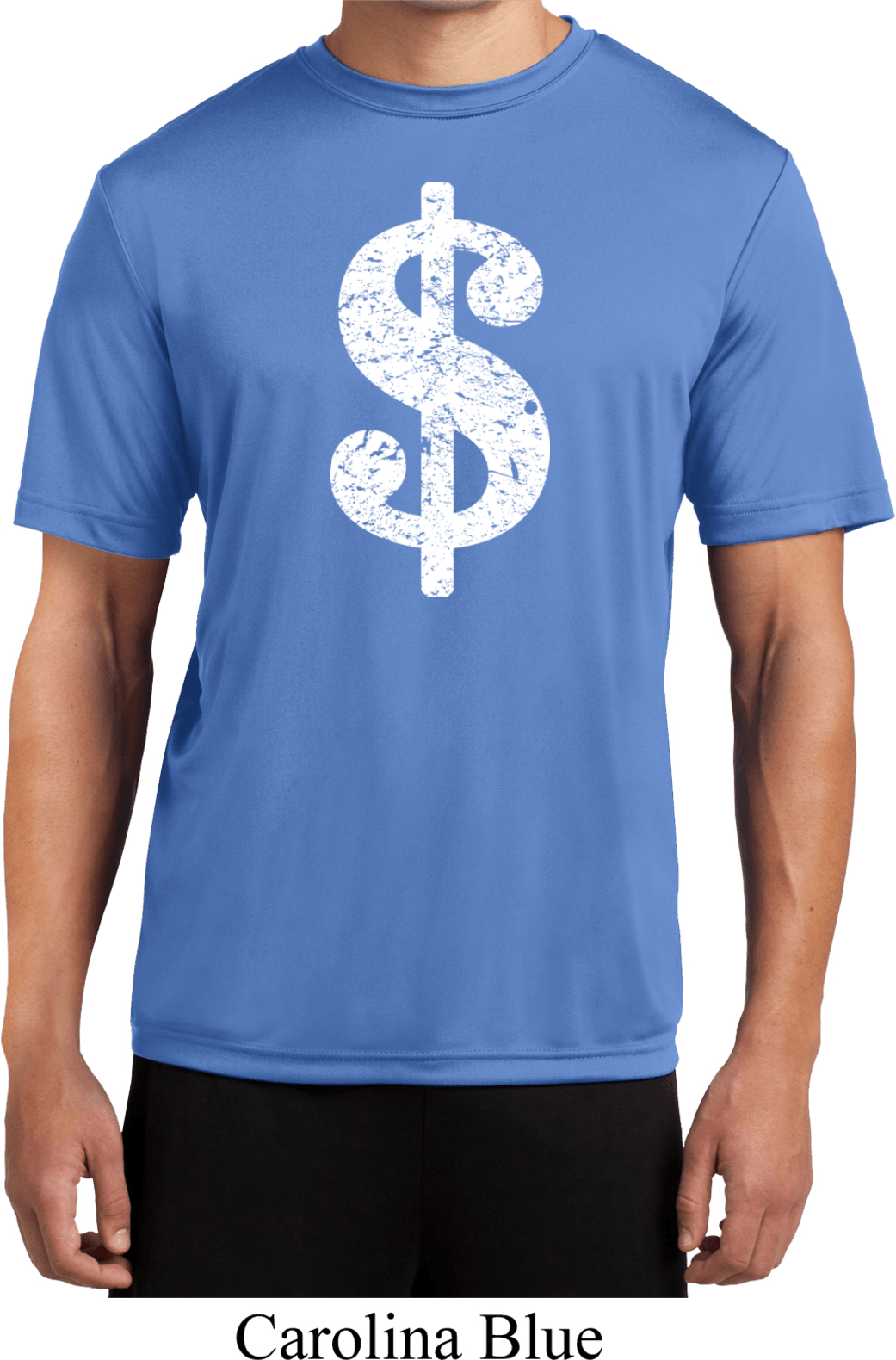 Mens funny shirt distressed dollar sign moisture wicking for Buy mens t shirts
