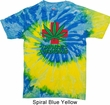Mens Funny Shirt Natures Medicine Tie Dye Tee T-shirt
