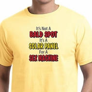 Mens Funny Shirt Not a Bald Spot Organic Tee T-Shirt