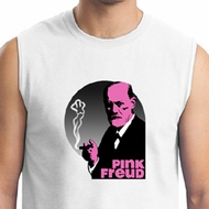 Mens Funny Shirt Pink Freud Muscle Tee T-Shirt