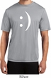 Mens Funny Shirt Smiley Chat Face Moisture Wicking Tee T-Shirt