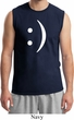 Mens Funny Shirt Smiley Chat Face Muscle Tee T-Shirt