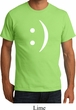 Mens Funny Shirt Smiley Chat Face Organic Tee T-Shirt
