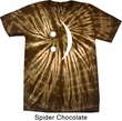 Mens Funny Shirt Smiley Chat Face Spider Tie Dye Tee T-shirt
