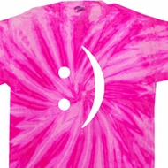 Mens Funny Shirt Smiley Chat Face Twist Tie Dye Tee T-shirt