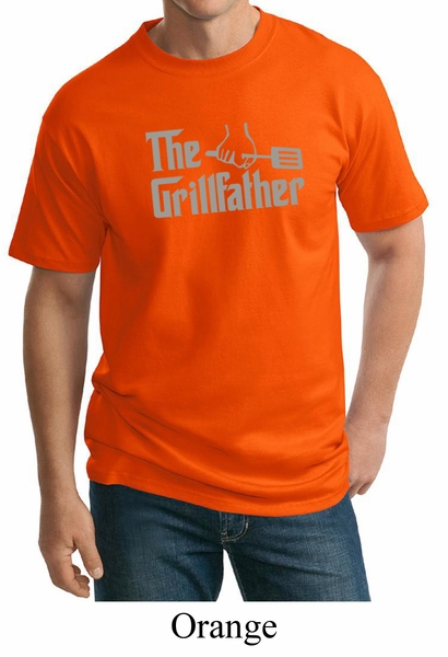 Mens funny shirt the grill father tall tee t shirt the for Big and tall cool shirts